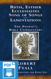 The People's Bible Commentary - Ruth, Esther, Ecclesiastes, Song of Songs and Lamentations: A Bible commentary for every day