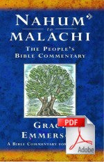 The People's Bible Commentary - Nahum to Malachi: A Bible commentary for every day
