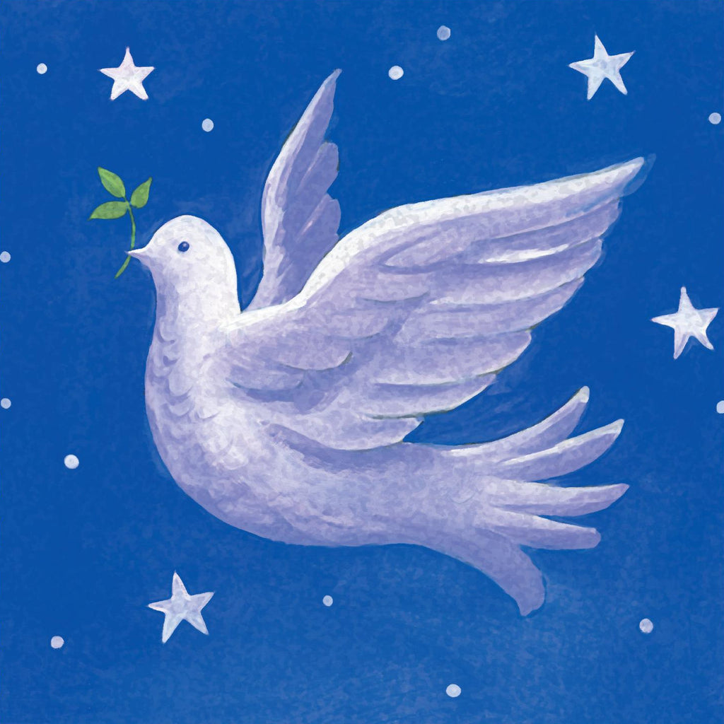 Christmas card - No.  3. Dove of Peace (Pack of 10)