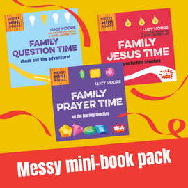 Messy mini-book pack