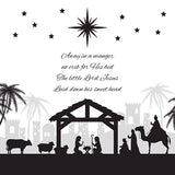 Christmas card - No.  10. No Crib for a Bed (Pack of 10)