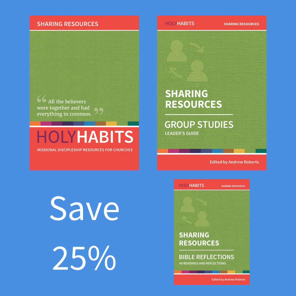 Holy Habits Sharing Resources Pack