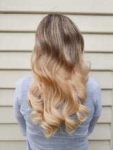 Load image into Gallery viewer, Halo Hair Extensions - Warm Blonde #22