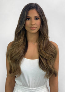 Halo Hair Extensions - Blend #4 and #8