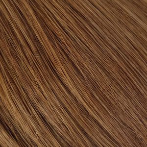 Ponytail Extensions - Warm Copper Brown #6