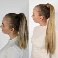 Load image into Gallery viewer, Ponytail Extensions - Blend #18 and #22
