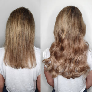 Halo Hair Extensions - Blend #18 and #22