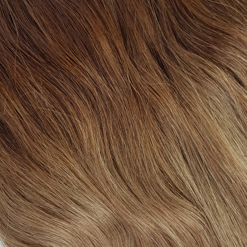 Halo Hair Extensions - Ombre Brown/Bronde #4/16