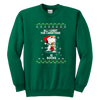 All I Want For Christmas Is Books Snoopy The Peanuts Movie Sweatshirt-T-shirt-Youth Crewneck Sweatshirt-Kelly Green-XS-Geek Mundo Store