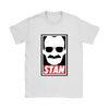 Stan Lee Marvel Comic Spider Man Our Hero Shirt-T-shirt-Gildan Womens T-Shirt-White-S-Itees Global