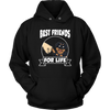 Rottweiler Best Friends For Life Dog Shirts-T-shirt-Unisex Hoodie-Black-S-Geek Mundo Store
