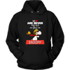 We Are Never Too Old For Snoopy Snoopy Woodstock The Peanuts Movie Shirts-T-shirt-Unisex Hoodie-Black-S-Itees Global