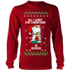 All I Want For Christmas Is Books Snoopy The Peanuts Movie Sweatshirt-T-shirt-Long Sleeve Shirt-Red-S-Geek Mundo Store