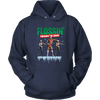 Fortnite - Flossing Through The Snow Christmas Merry Marauder Recon Specialist Shirts-T-shirt-Unisex Hoodie-Navy-S-Geek Mundo Store