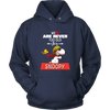 We Are Never Too Old For Snoopy Snoopy Woodstock The Peanuts Movie Shirts-T-shirt-Unisex Hoodie-Navy-S-Itees Global