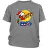Snoopy Santa Claus Christmas The Peanuts Movie Shirt-T-shirt-District Youth Shirt-Sport Grey-XS-Geek Mundo Store