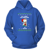 All I Want For Christmas Is Books Snoopy The Peanuts Movie Sweatshirt-T-shirt-Unisex Hoodie-Royal Blue-S-Geek Mundo Store