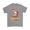 Together Christmas Is A Little Cozier Snoopy Woodstock The Peanuts Movie Shirts-T-shirt-Gildan Mens T-Shirt-Sport Grey-S-Itees Global