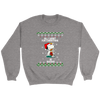 All I Want For Christmas Is Books Snoopy The Peanuts Movie Sweatshirt-T-shirt-Crewneck Sweatshirt-Sport Grey-S-Geek Mundo Store