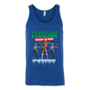 Fortnite - Flossing Through The Snow Christmas Merry Marauder Recon Specialist Shirts-T-shirt-Canvas Unisex Tank-Royal-S-Geek Mundo Store