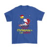 Together Christmas Is A Little Cozier Snoopy Woodstock The Peanuts Movie Shirts-T-shirt-Gildan Mens T-Shirt-Royal Blue-S-Itees Global