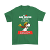 We Are Never Too Old For Snoopy Snoopy Woodstock The Peanuts Movie Shirts-T-shirt-Gildan Mens T-Shirt-Irish Green-S-Itees Global