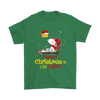 Together Christmas Is A Little Cozier Snoopy Woodstock The Peanuts Movie Shirts-T-shirt-Gildan Mens T-Shirt-Irish Green-S-Itees Global