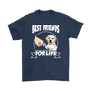 Labrador Retriever Best Friends For Life Dog Shirts-T-shirt-Gildan Mens T-Shirt-Navy-S-Geek Mundo Store