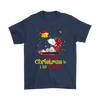 Together Christmas Is A Little Cozier Snoopy Woodstock The Peanuts Movie Shirts-T-shirt-Gildan Mens T-Shirt-Navy-S-Itees Global