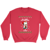 All I Want For Christmas Is Books Snoopy The Peanuts Movie Sweatshirt-T-shirt-Crewneck Sweatshirt-Red-S-Geek Mundo Store