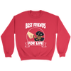 Rottweiler Best Friends For Life Dog Shirts-T-shirt-Crewneck Sweatshirt-Red-S-Geek Mundo Store
