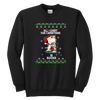 All I Want For Christmas Is Books Snoopy The Peanuts Movie Sweatshirt-T-shirt-Youth Crewneck Sweatshirt-Black-XS-Geek Mundo Store