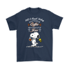 All I Need Today Is A Little Of Coffee Shirts-T-shirt-Gildan Mens T-Shirt-Navy-S-Geek Mundo Store