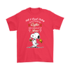 All I Need Today Is A Little Of Coffee Shirts-T-shirt-Gildan Mens T-Shirt-Red-S-Geek Mundo Store
