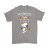 All I Need Today Is A Little Of Coffee Shirts-T-shirt-Gildan Mens T-Shirt-Sport Grey-S-Geek Mundo Store