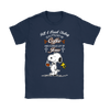 All I Need Today Is A Little Of Coffee Shirts-T-shirt-Gildan Womens T-Shirt-Navy-S-Geek Mundo Store