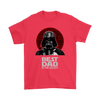 Best Dad In The Galaxy Star Wars Family Movies Shirts-T-shirt-Gildan Mens T-Shirt-Red-S-Geek Mundo Store