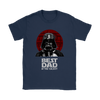Best Dad In The Galaxy Star Wars Family Movies Shirts-T-shirt-Gildan Womens T-Shirt-Navy-S-Geek Mundo Store