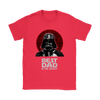 Best Dad In The Galaxy Star Wars Family Movies Shirts-T-shirt-Gildan Womens T-Shirt-Red-S-Geek Mundo Store