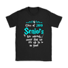 Class Of 2019 Seniors We Solemnly Swear That We Are Up To No Good Harry Potter Shirts-T-shirt-Gildan Womens T-Shirt-Black-S-Geek Mundo Store