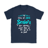 Class Of 2019 Seniors We Solemnly Swear That We Are Up To No Good Harry Potter Shirts-T-shirt-Gildan Womens T-Shirt-Navy-S-Geek Mundo Store