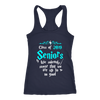 Class Of 2019 Seniors We Solemnly Swear That We Are Up To No Good Harry Potter Shirts-T-shirt-Next Level Racerback Tank-Navy-XS-Geek Mundo Store