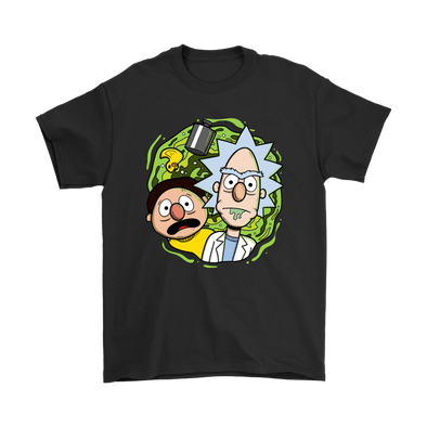 Comic Con - Rick And Morty Comic-Con Shirts-T-shirt-Geek Mundo Store