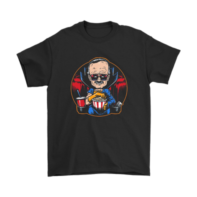 Comic Con - The Movie Watcher Stan Lee Marvel Shirts-T-shirt-Geek Mundo Store