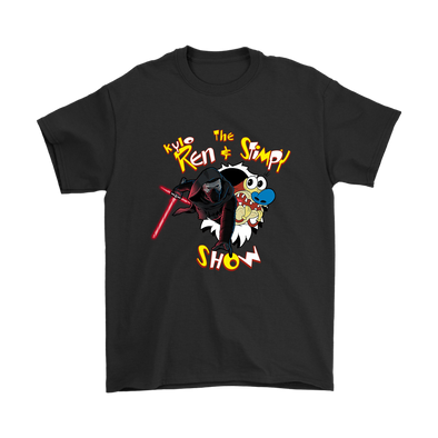 Comic Con - The Ren And Stimpy Show Star Wars Kylo Ren Stimpson J. Cat Shirts-T-shirt-Geek Mundo Store