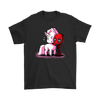 Deadpool Loves Unicorns Marvel Shirts-T-shirt-Gildan Mens T-Shirt-Black-S-Geek Mundo Store