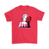 Deadpool Loves Unicorns Marvel Shirts-T-shirt-Gildan Mens T-Shirt-Red-S-Geek Mundo Store