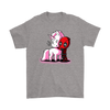 Deadpool Loves Unicorns Marvel Shirts-T-shirt-Gildan Mens T-Shirt-Sport Grey-S-Geek Mundo Store