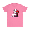 Deadpool Loves Unicorns Marvel Shirts-T-shirt-Gildan Womens T-Shirt-Azalea-S-Geek Mundo Store