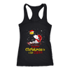 Together Christmas Is A Little Cozier Snoopy Woodstock The Peanuts Movie Shirts-T-shirt-Next Level Racerback Tank-Black-XS-Itees Global